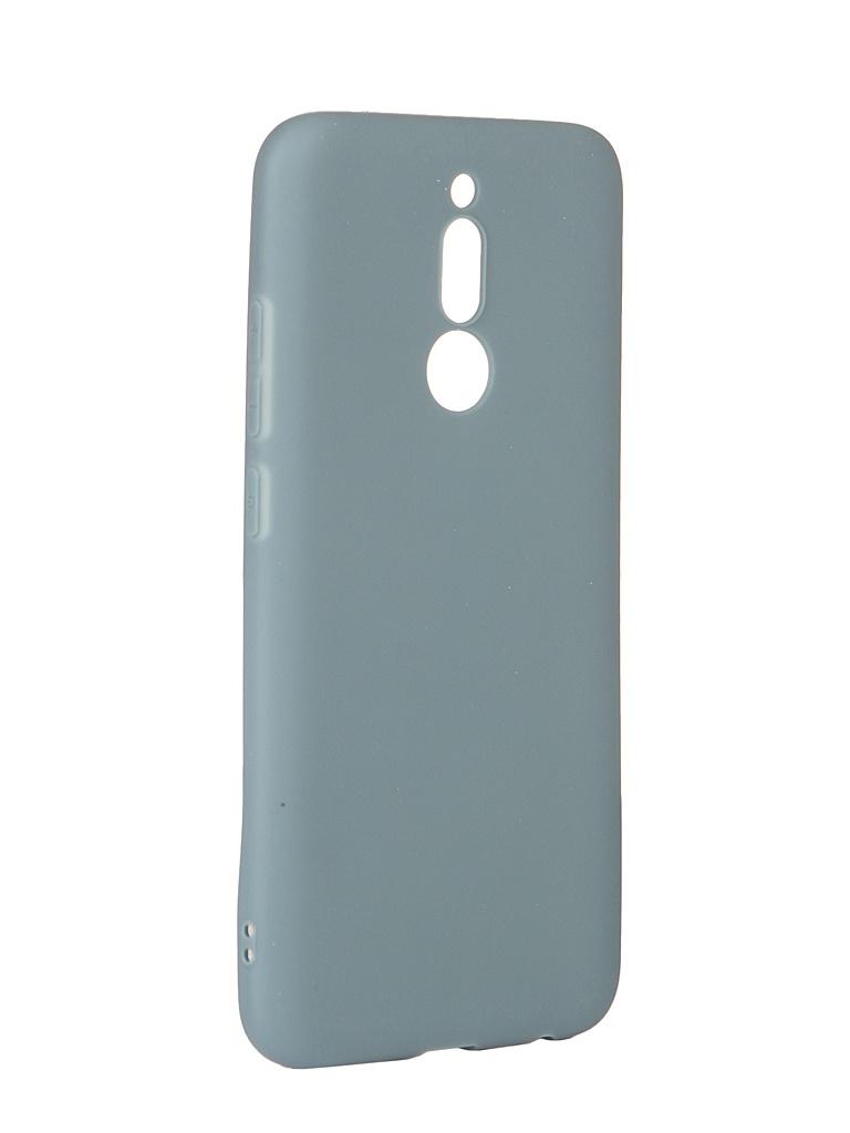 Чехол Zibelino для Xiaomi Redmi 8 2019 Soft Matte Azure ZSM-XIA-RDM-8-AZU