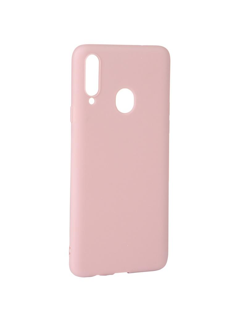 Чехол Zibelino для Samsung Galaxy A20S A207 2019 Soft Matte Dusty Rose ZSM-SAM-A20S-DRS фото