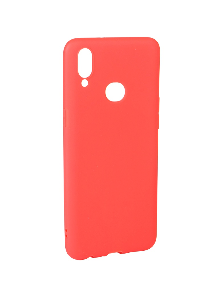 Аксессуар Чехол Zibelino для Samsung Galaxy A10S A107 2019 Soft Matte Red ZSM-SAM-A10S-RED