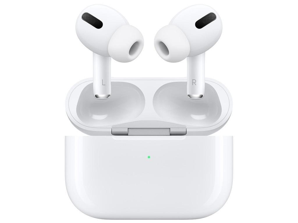 Наушники Apple AirPods Pro Lilac Case в беспроводном зарядном футляре MWP22RU/A Выгодный набор + серт. 200Р!!!