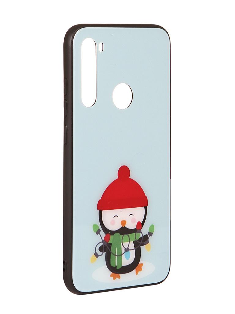 Чехол Zibelino для Xiaomi Redmi Note 8 NG Пингвин ZSM-NG-XIA-N8-PIN
