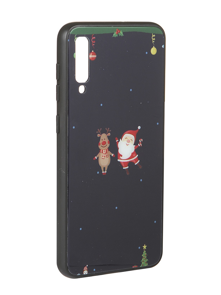 Аксессуар Чехол Zibelino для Samsung Galaxy A50/A50S/A30S A505/A507/A307 NG Олень и снеговик ZSM-NG-SAM-A50-OL&S