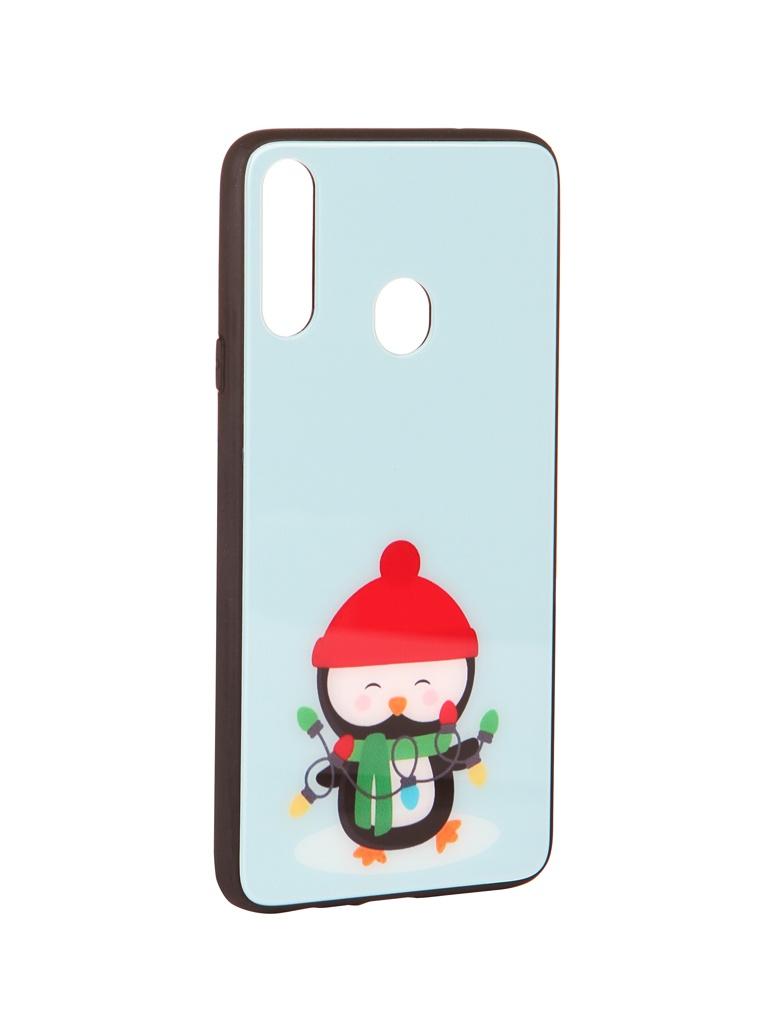 Чехол Zibelino для Samsung Galaxy A20S A207 NG Пингвин ZSM-NG-SAM-A20S-PIN