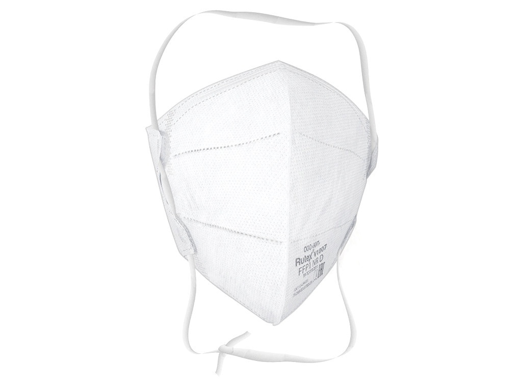 Защитная маска Rutex V1007 класс защиты FFP1 (до 4 ПДК) без клапана