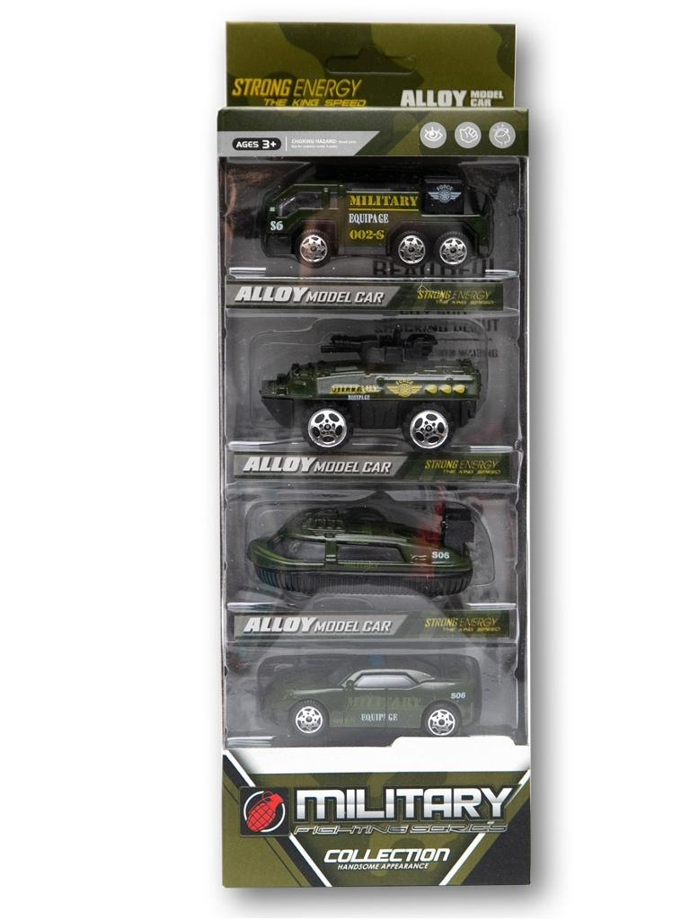Игрушка Zoomi Набор машинок 4шт ZM177