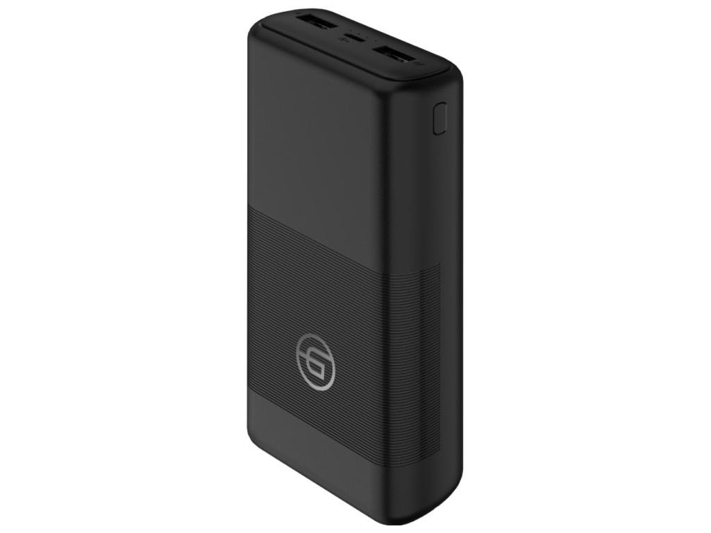 Аккумулятор Ginzzu Power Bank 20000mAh Black GB-3922B