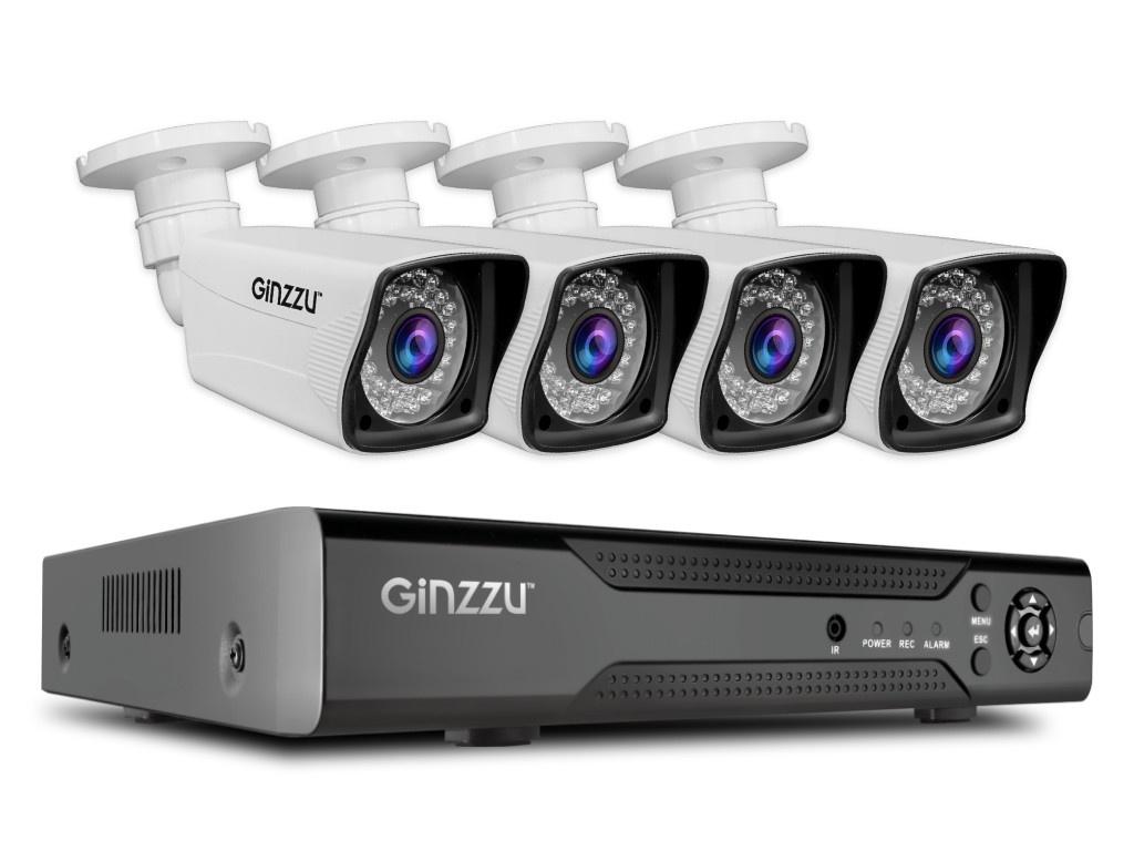 Комплект видеонаблюдения Ginzzu HK-446D