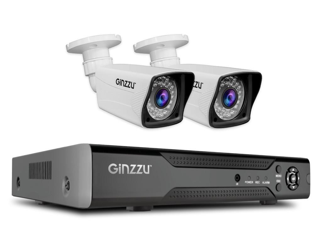 Комплект видеонаблюдения Ginzzu HK-426D