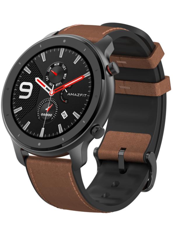 Умные часы Xiaomi Amazfit GTR 47mm A1902 Aluminum Alloy Выгодный набор + серт. 200Р!!!