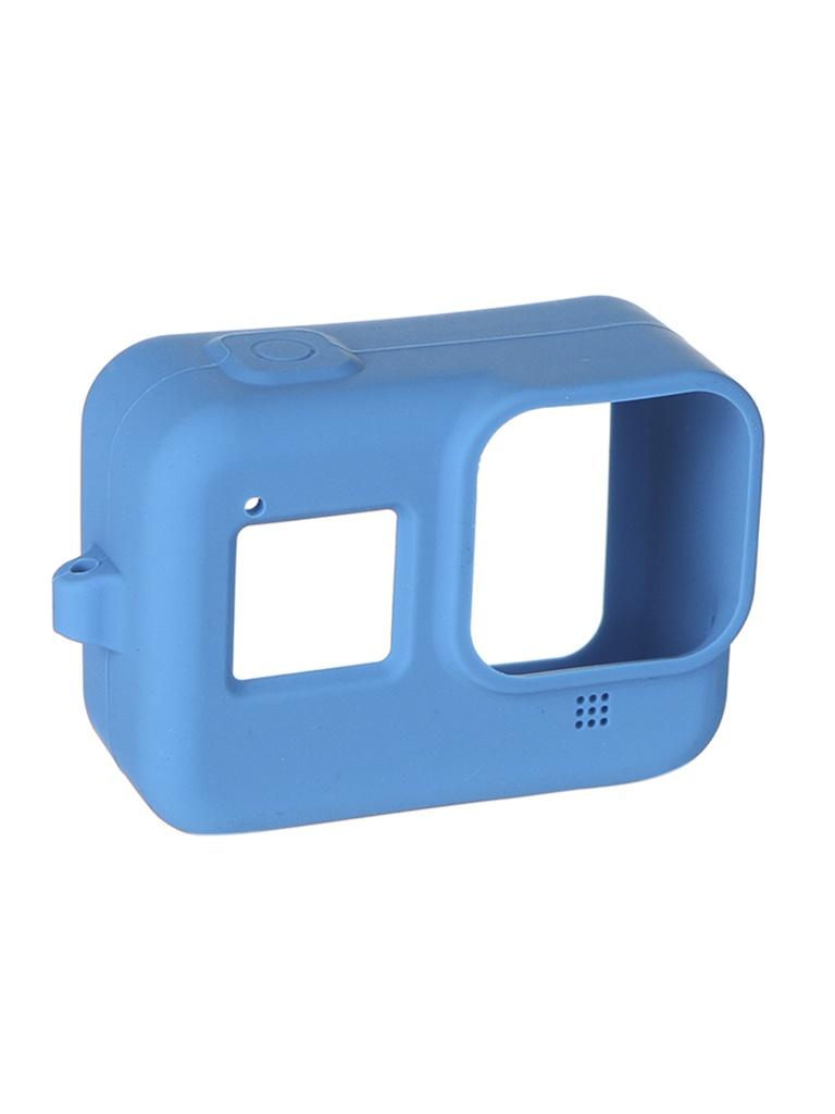 Фото - Аксессуар RedLine RL555 Blue для Hero 8 чехол силиконовый аксессуар чехол activ soft touch для apple airpods coast blue 97768