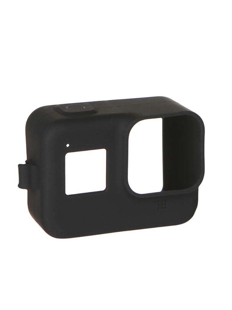 цена на Аксессуар GoPro AJSST-001 Black для Hero 8 чехол силиконовый