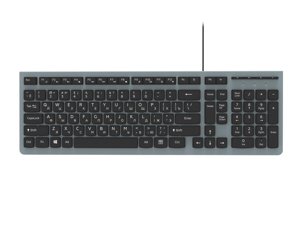 Клавиатура Ritmix RKB-400 Grey