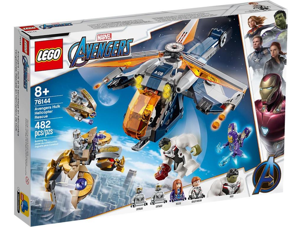 Конструктор Lego Super Heroes Мстители: Спасение Халка на вертолете 76144 конструктор lego super heroes mighty micros 76070 чудо женщина против думсдэя