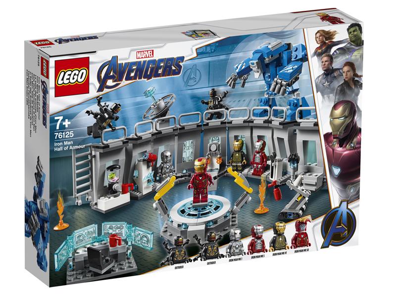 Конструктор Lego Super Heroes Лаборатория Железного человека 76125 lego super heroes 76104 бой халкбастера