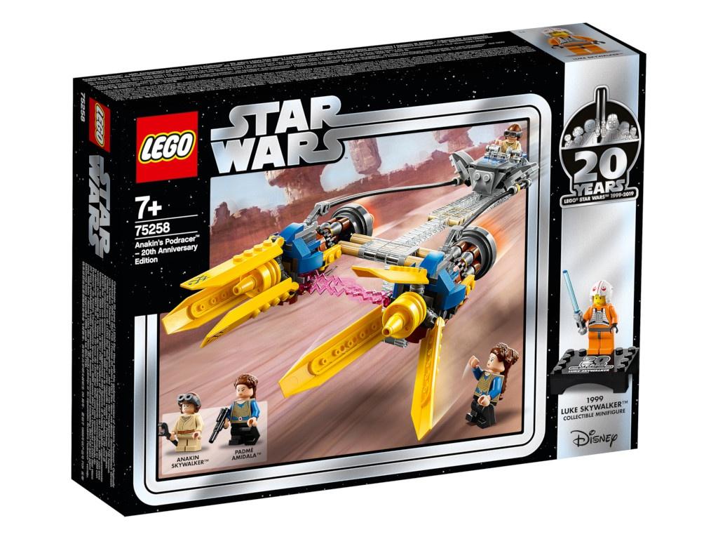 Конструктор Lego Star Wars Гоночный под Энакина: выпуск к 20-летнему юбилею 75258