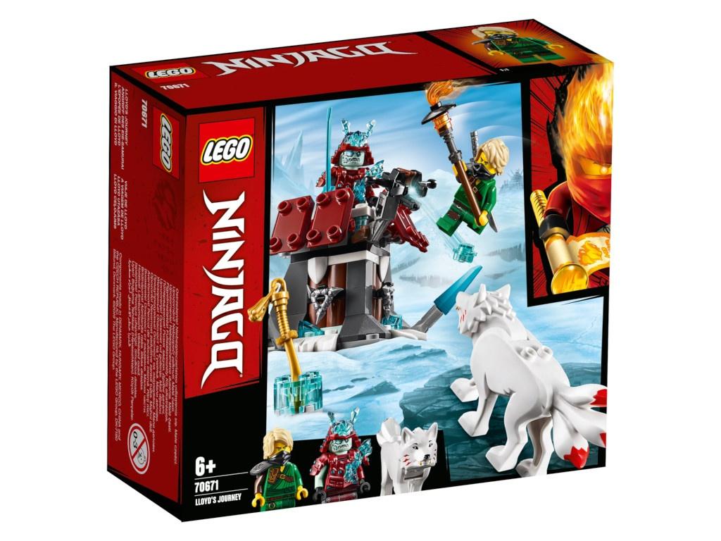 Конструктор Lego Ninjago Путешествие Ллойда 70671
