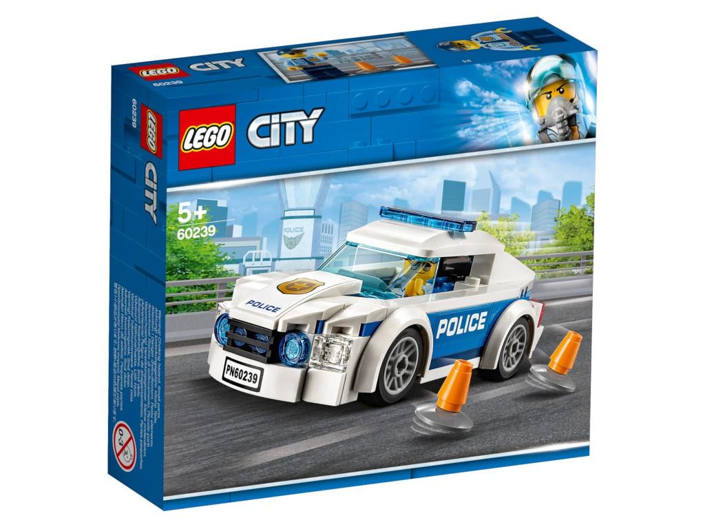 Конструктор Lego City Автомобиль полицейского патруля 60239