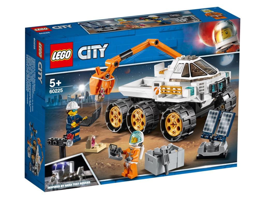Конструктор Lego City Тест-драйв вездехода 60225