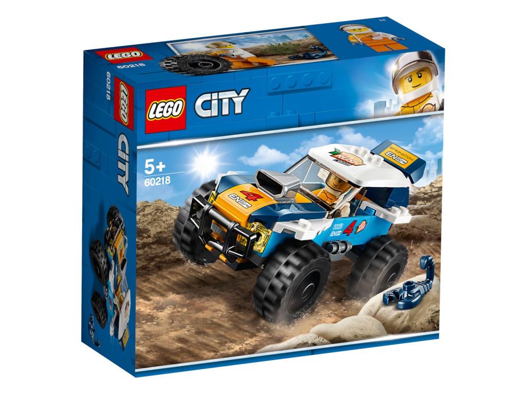 Конструктор Lego City Участник гонок в пустыне 60218