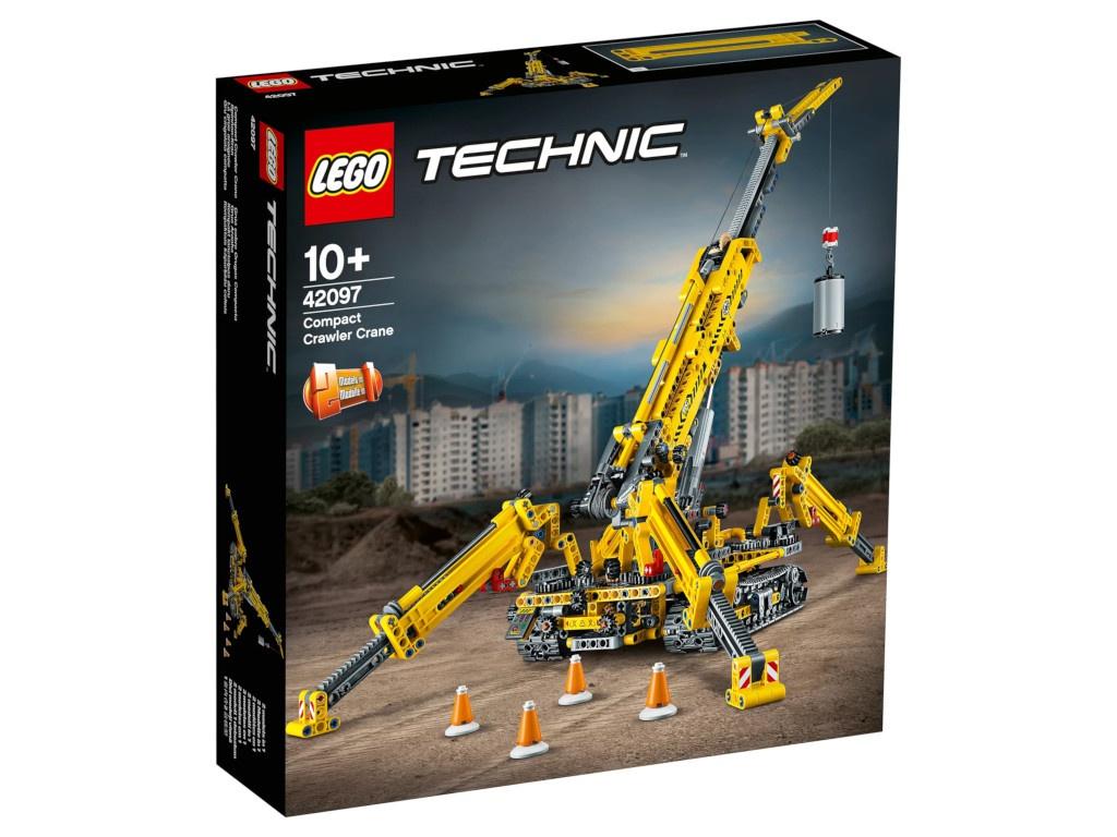 цена Конструктор Lego Technic Мостовой кран 42097