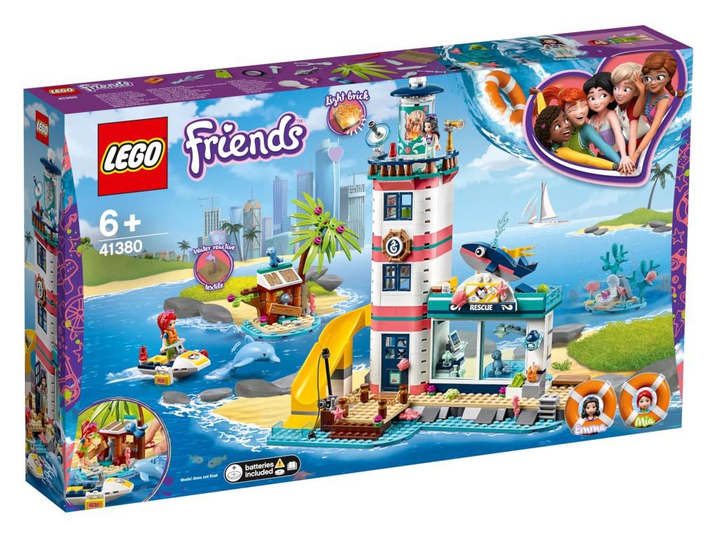 Конструктор Lego Friends Спасательный центр 41380