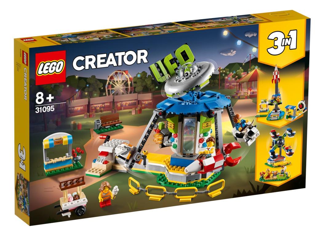 Конструктор Lego Creator Ярмарочная карусель 31095 конструктор creator lego lego mp002xb00c9r