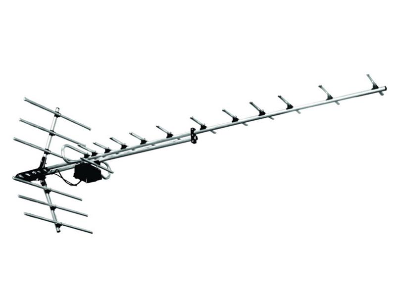 Антенна Дельта ДМВ Алюминевая Н1181А 5V б/к