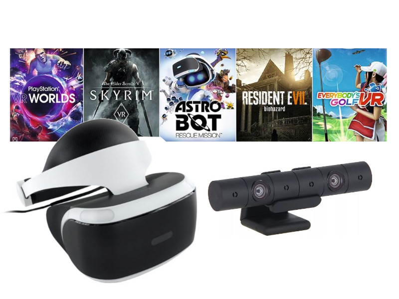 Шлем виртуальной реальности Sony PlayStation VR Mega Pack 2 MK4 CUH-ZVR2 + PS Camera 5 игр PS719998600