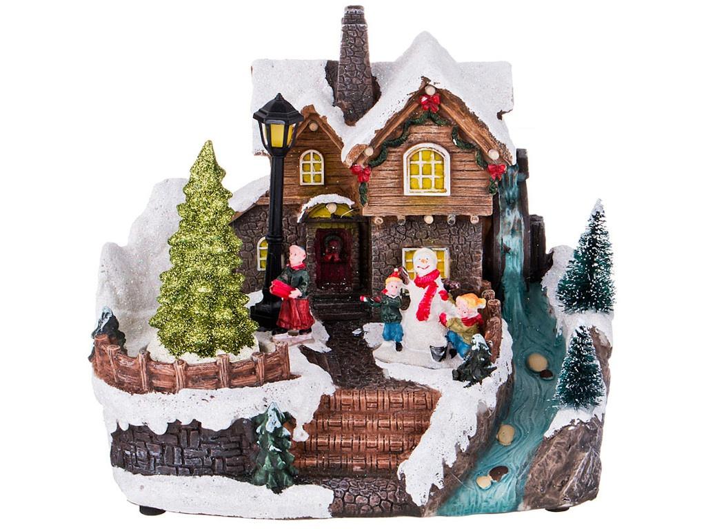Аксессуар Lefard Рождественский домик 868-105