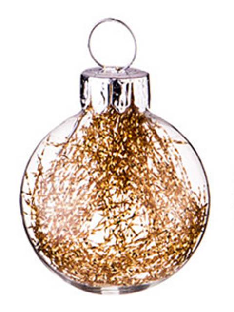 Украшение Lefard Набор Золотые блестки 3cm 12шт 862-262