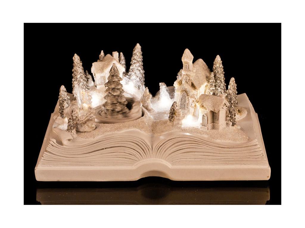 Новогодний сувенир Lefard Зимняя книга 868-102 цена 2017