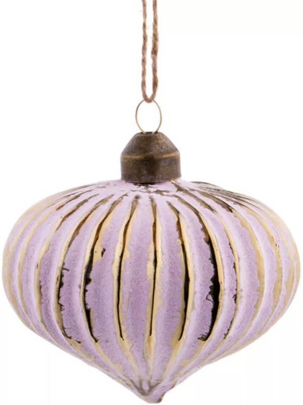 Украшение Lefard Набор Винтажные шары 6шт 9cm 864-140