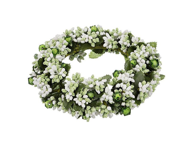 Хвойный декор Lefard Новогодний венок 16cm 241-3109