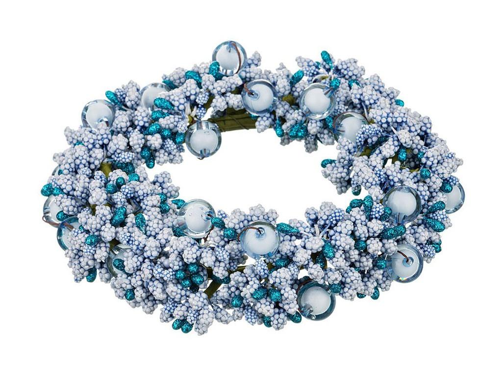 Хвойный декор Lefard Новогодний венок 16cm 241-3111