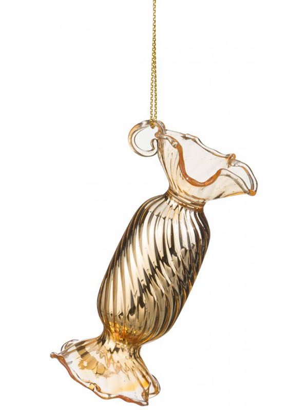 Елочное украшение Lefard Конфета h-8cm 6шт Gold 862-026