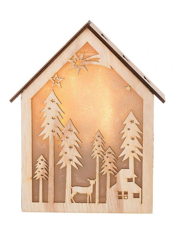Светящееся украшение Lefard Новогоднее панно 854-003