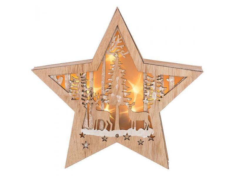 Светящееся украшение Lefard Новогоднее панно 854-002