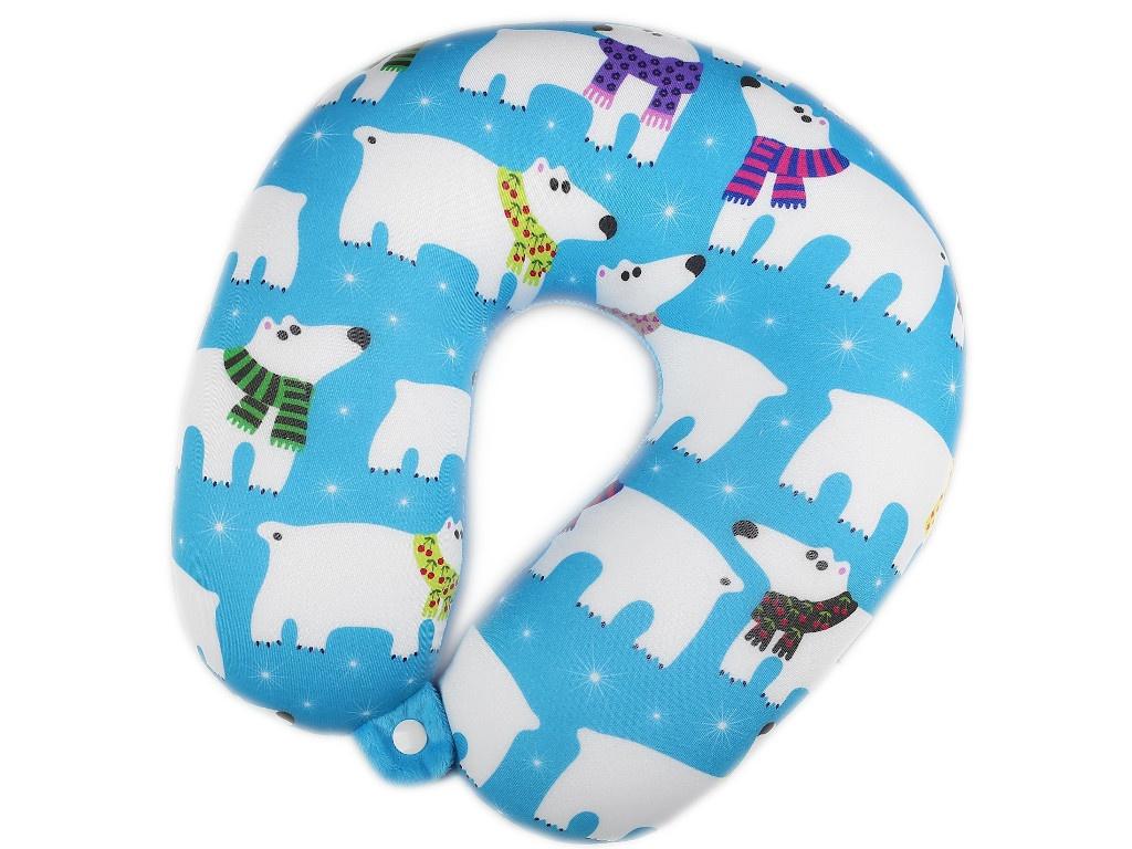 Подушка СИМА-ЛЕНД Белый медведь 4296921