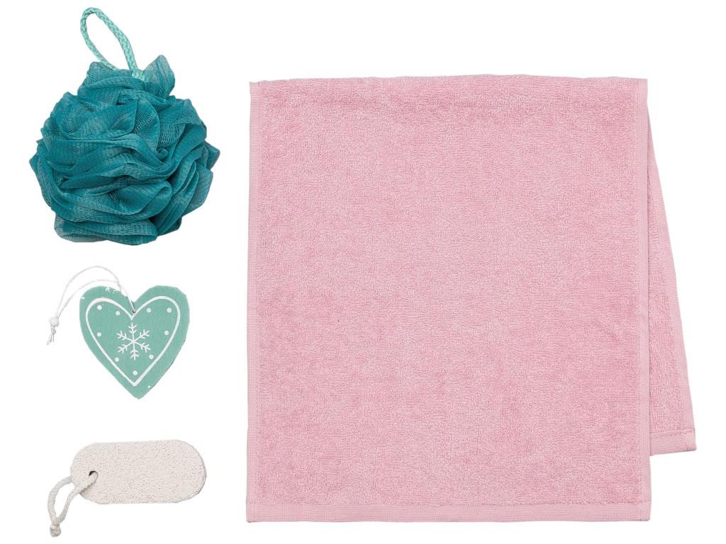 Набор Этель Love Winter - полотенце 30х60cm + банные аксессуары 4471693