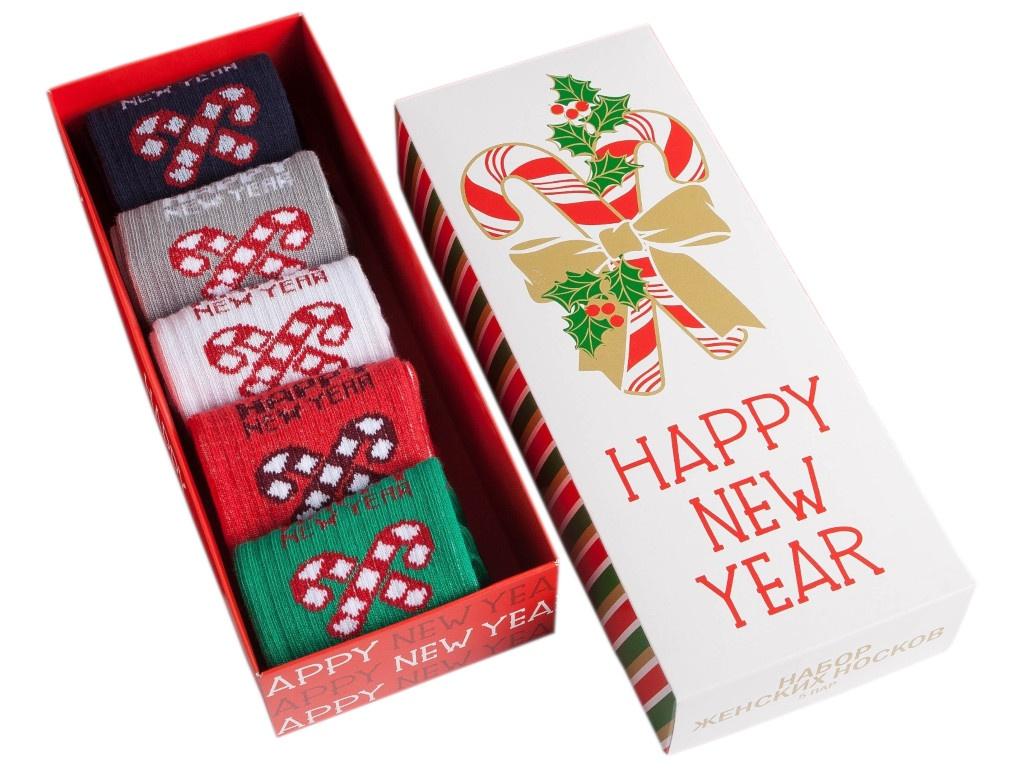 Набор женских носков Kaftan New Year р.36-40
