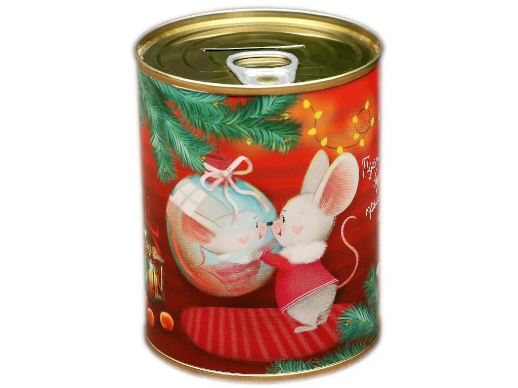 Копилка для денег СИМА-ЛЕНД Пусть год мышки будет ярким 7.3x9.5cm 4479930