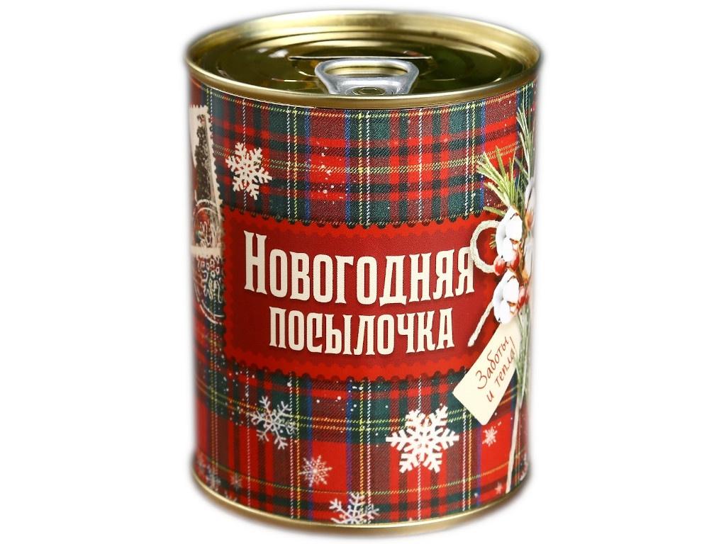 Копилка для денег СИМА-ЛЕНД Новогодняя посылочка 7.3x9.5cm 4479945