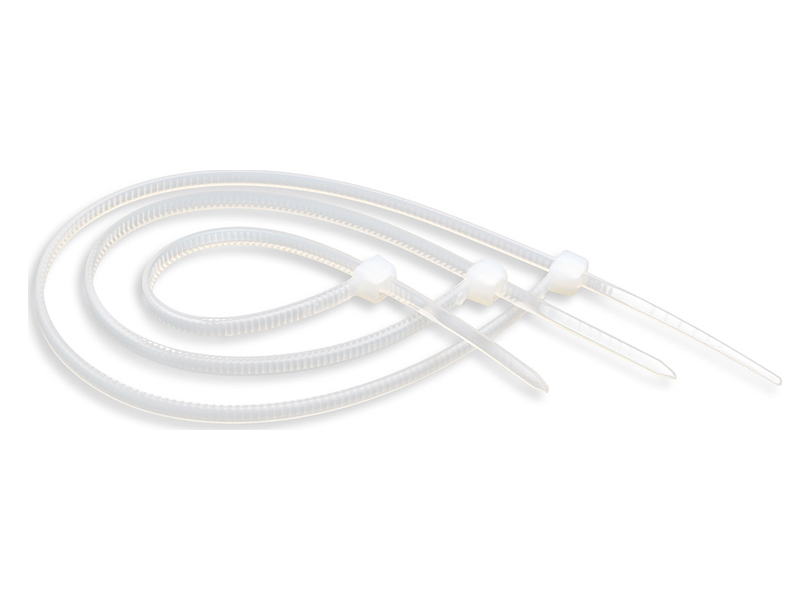 Стяжки ATcom Nylon 4x200mm (100шт) White AT4723