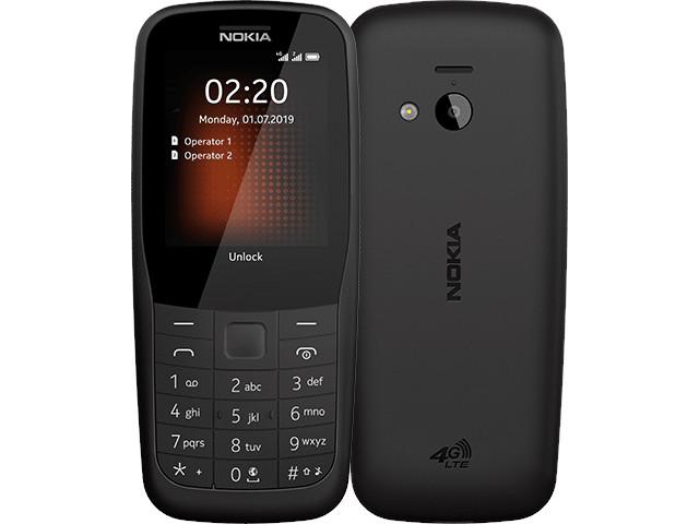 Сотовый телефон Nokia 220 4G Dual Sim Black