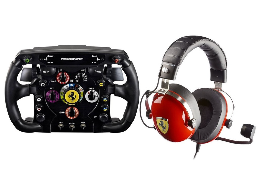 Набор Thrustmaster Scuderia Ferrari Race Kit 4160764