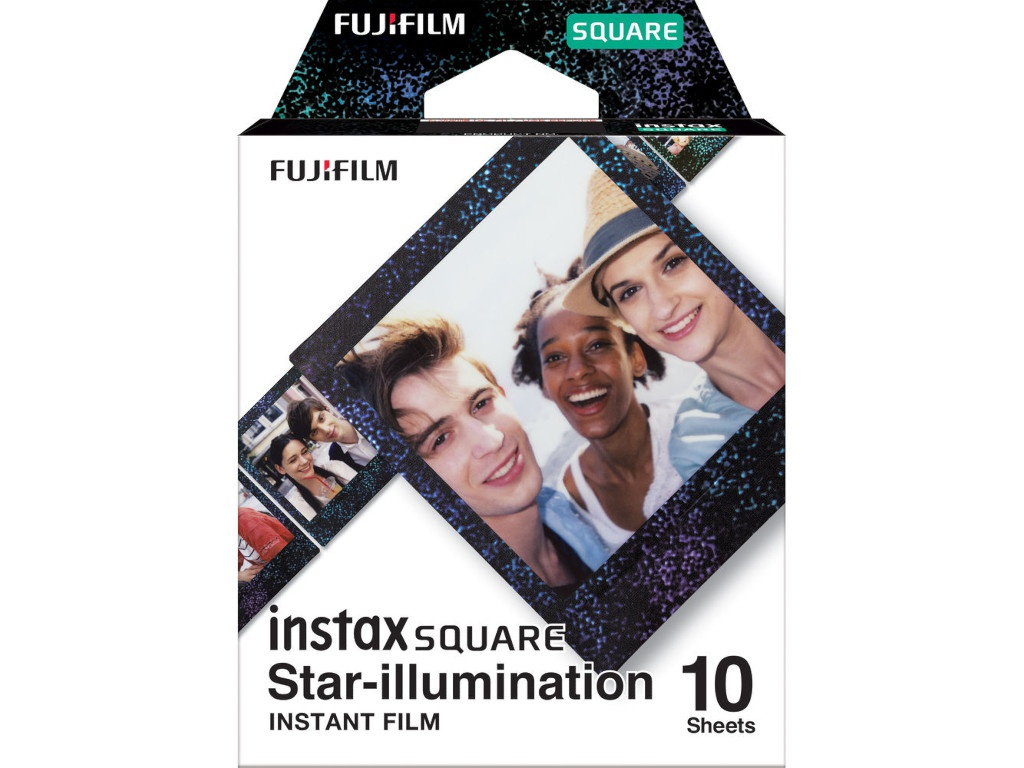 Fujifilm Colorfilm Instax Square Film Star-illumination 10 Sheets для SQ6/SQ10/SQ20 16633495