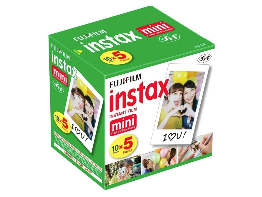 Fujifilm Colorfilm Instax Mini Glossy 5x10 для 9/8/70/90/Hello Kitty 70100144162