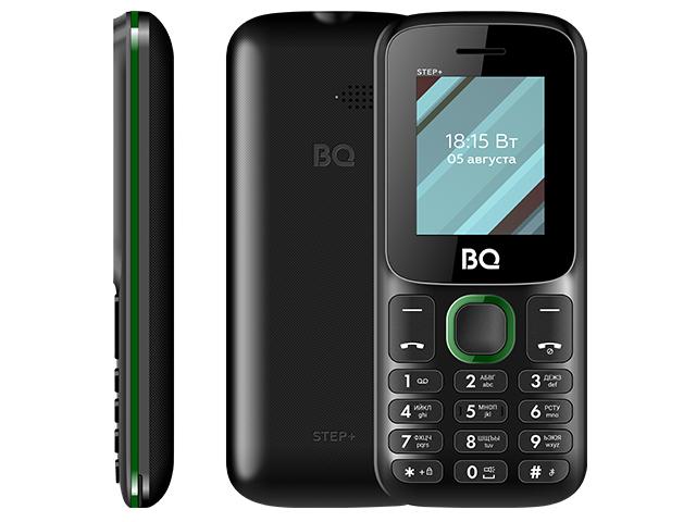 Сотовый телефон BQ 1848 Step+ Black-Green