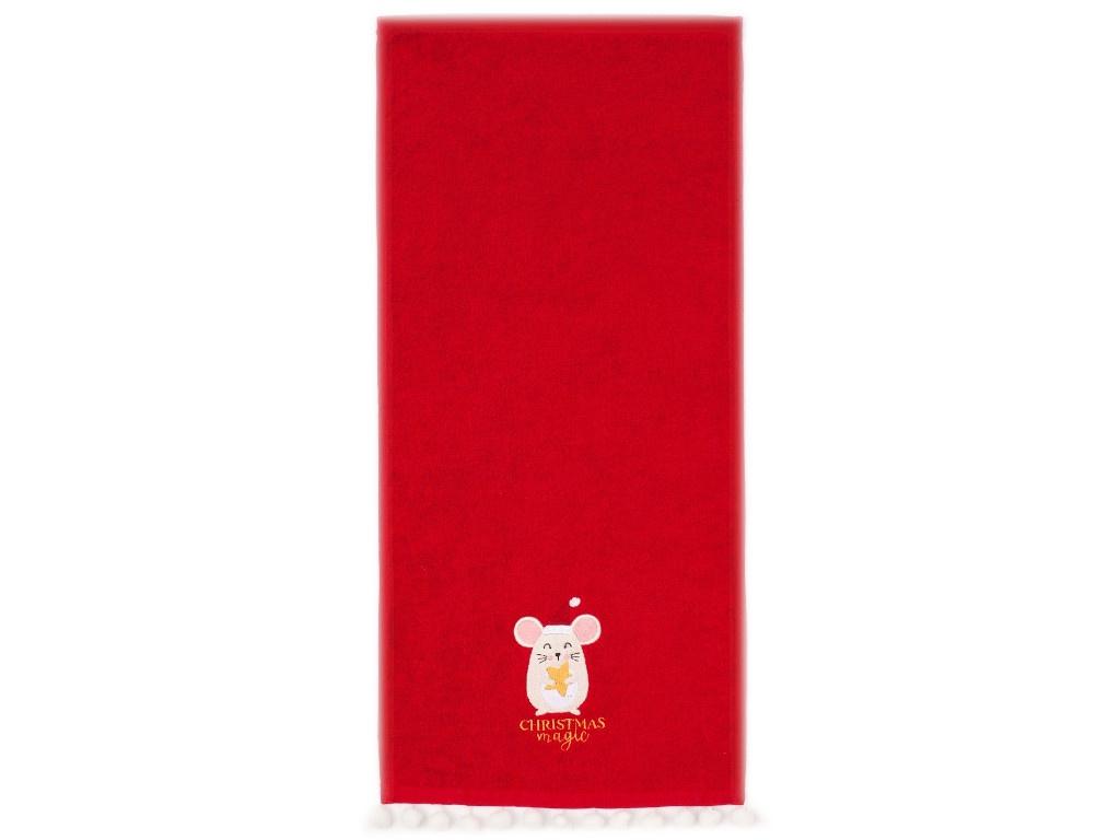 Полотенце Этель Christmas Magic 30x60cm 4359064