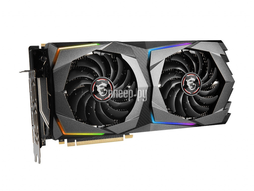 Видеокарта MSI GeForce RTX 2070 Super 1770Mhz PCI-E 3.0 8192Mb 14000Mhz 256 bit HDMI 3xDP SUPER GAMING
